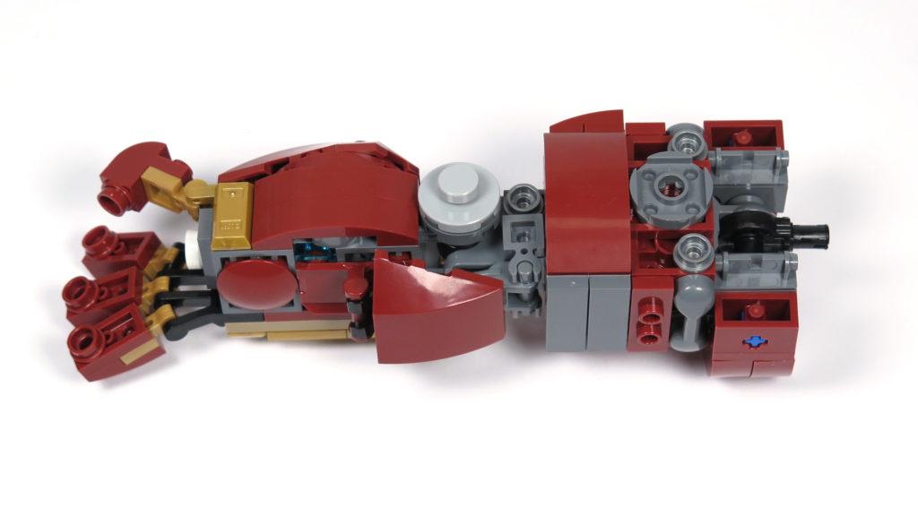 LEGO® Marvel Super Heroes - 76105 - Der Hulkbuster: Ultron Edition - Bauabschnitt 6 - Arm 2 | ©2018 Brickzeit