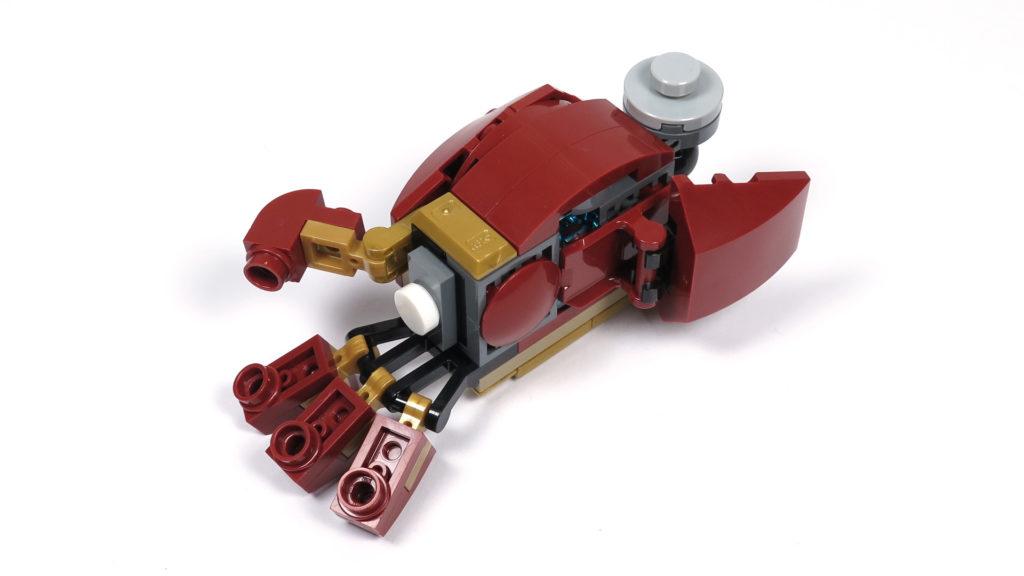 LEGO® Marvel Super Heroes - 76105 - Der Hulkbuster: Ultron Edition - Bauabschnitt 6 - rechte Hand | ©2018 Brickzeit