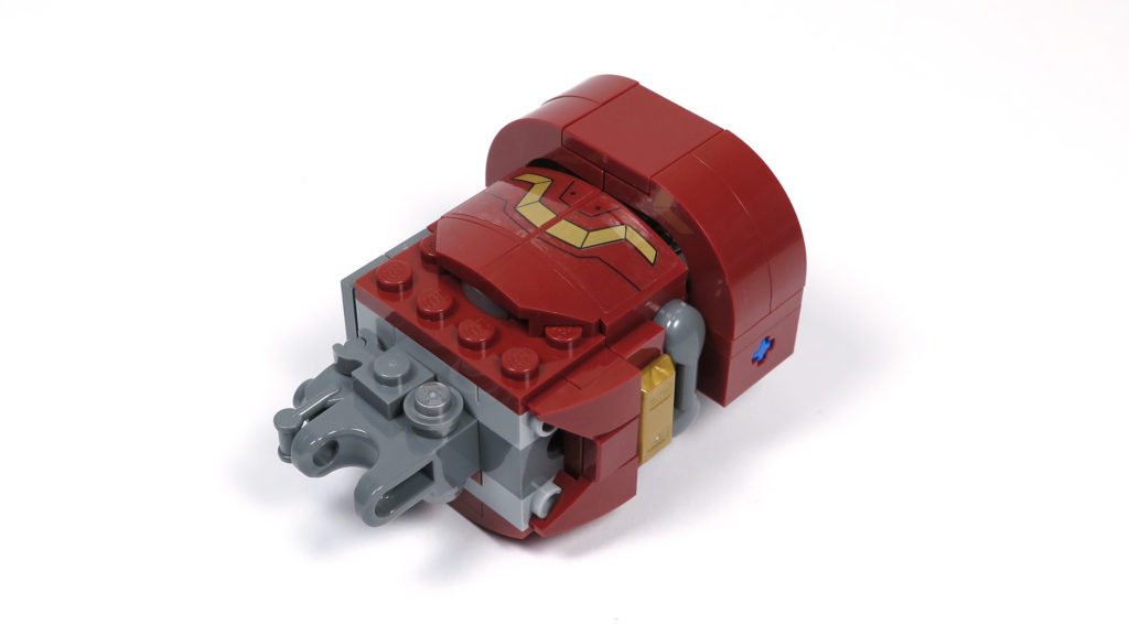 LEGO® Marvel Super Heroes - 76105 - Der Hulkbuster: Ultron Edition - Bauabschnitt 6 - rechter Oberarm | ©2018 Brickzeit