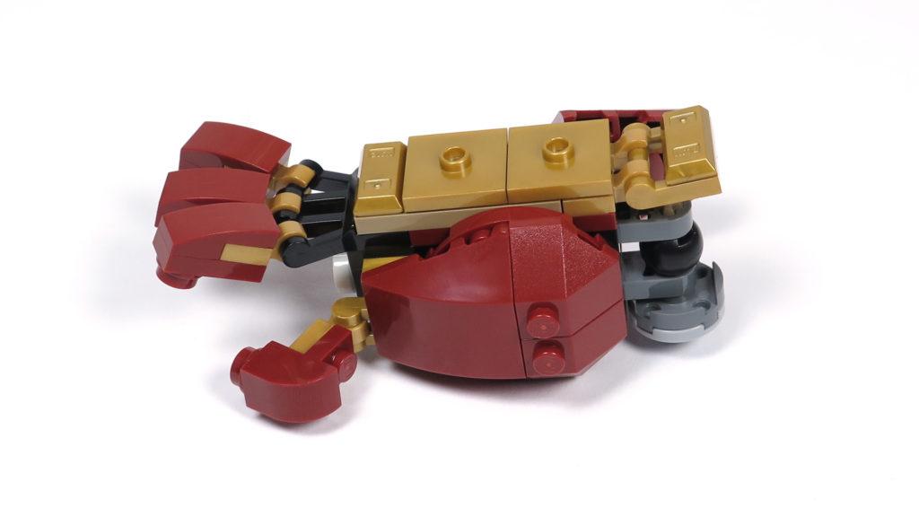 LEGO® Marvel Super Heroes - 76105 - Der Hulkbuster: Ultron Edition - Bauabschnitt 6 - Unterarm | ©2018 Brickzeit