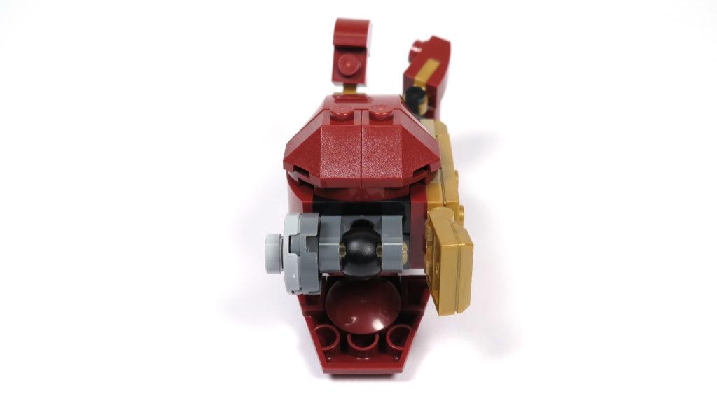 LEGO® Marvel Super Heroes - 76105 - Der Hulkbuster: Ultron Edition - Bauabschnitt 6 - Unterarm mit Gelenk | ©2018 Brickzeit