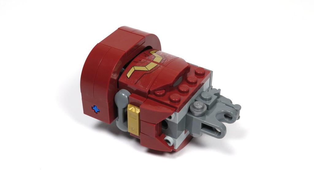 LEGO® Marvel Super Heroes - 76105 - Der Hulkbuster: Ultron Edition - Bauabschnitt 7 - Oberarm | ©2018 Brickzeit