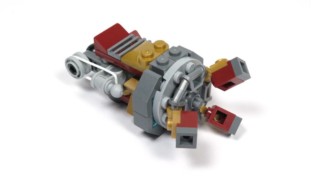 LEGO® Marvel Super Heroes - 76105 - Der Hulkbuster: Ultron Edition - Bauabschnitt 7 - Unterarm | ©2018 Brickzeit