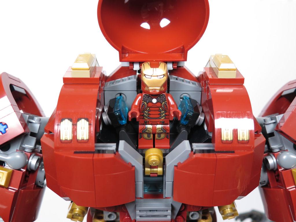 LEGO® Marvel Super Heroes - 76105 - Der Hulkbuster: Ultron Edition - Iron Man im Cockpit | ©2018 Brickzeit