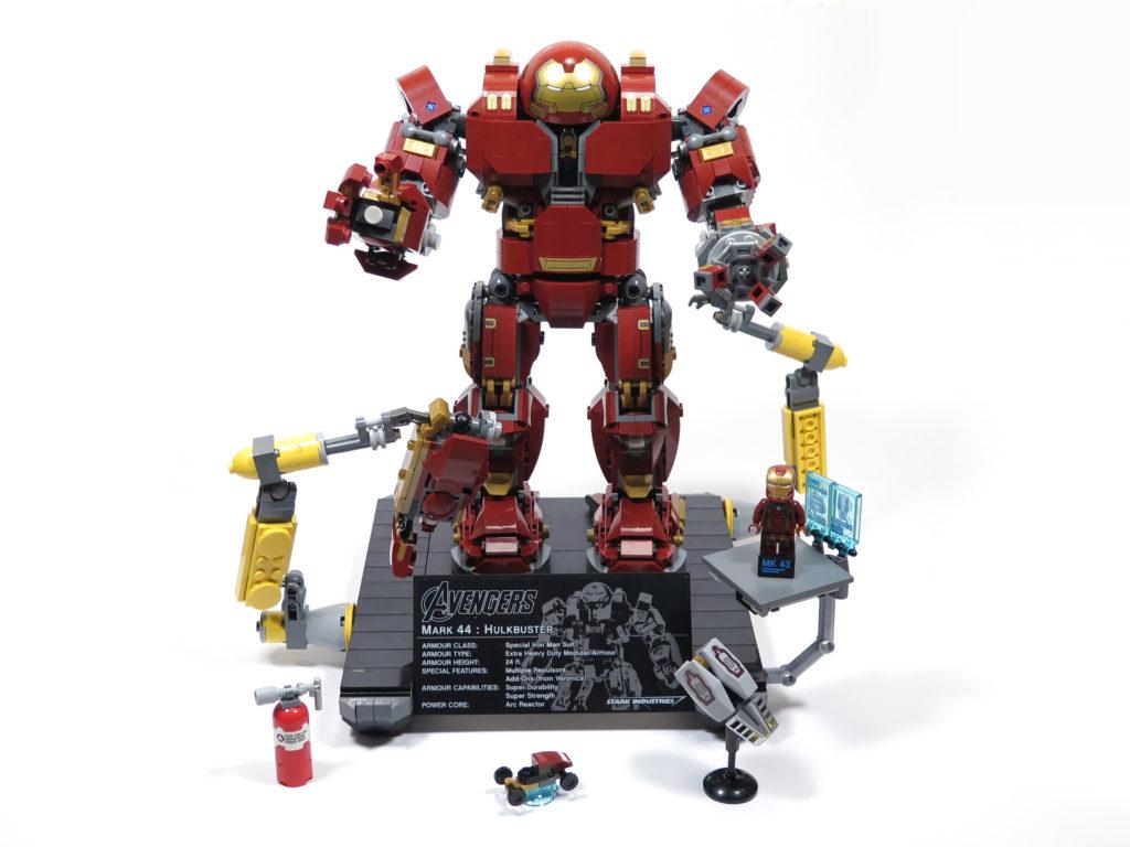 LEGO® Marvel Super Heroes - 76105 - Der Hulkbuster: Ultron Edition - komplettes Set | ©2018 Brickzeit
