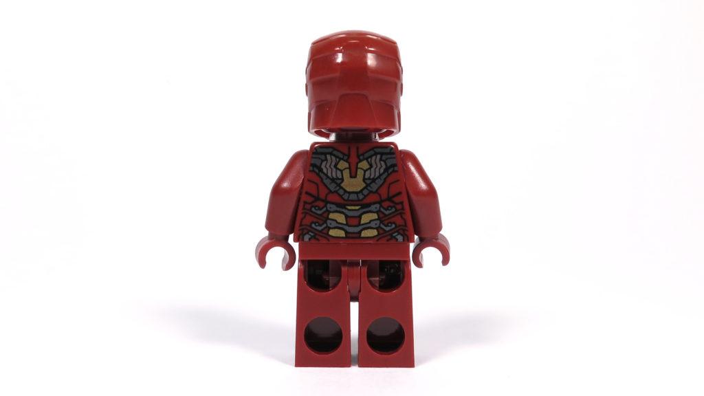 LEGO® Marvel Super Heroes - 76105 - Der Hulkbuster: Ultron Edition - Iron Man Minifigur Rückseite | ©2018 Brickzeit