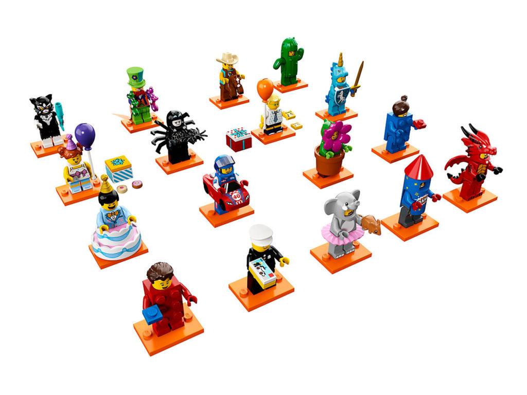 LEGO® Minifiguren Serie 18: Party (71021) - Übersicht | ©LEGO Gruppe