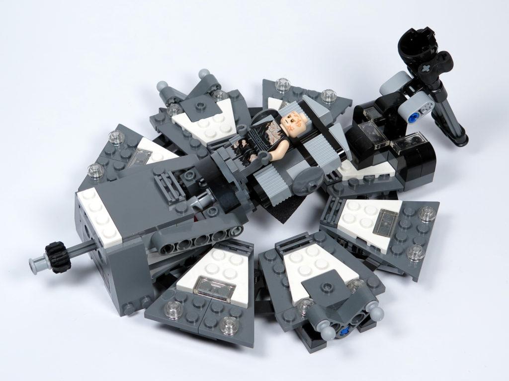 LEGO® Star Wars™ 75183 Darth Vader™ Transformation - Anakin auf Liege | ©2018 Brickzeit
