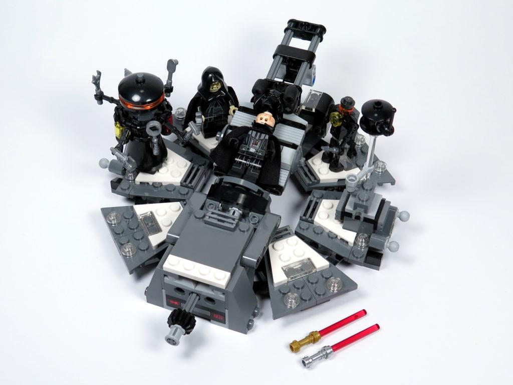 LEGO® Star Wars™ 75183 Darth Vader™ Transformation - Set 2 | ©2018 Brickzeit