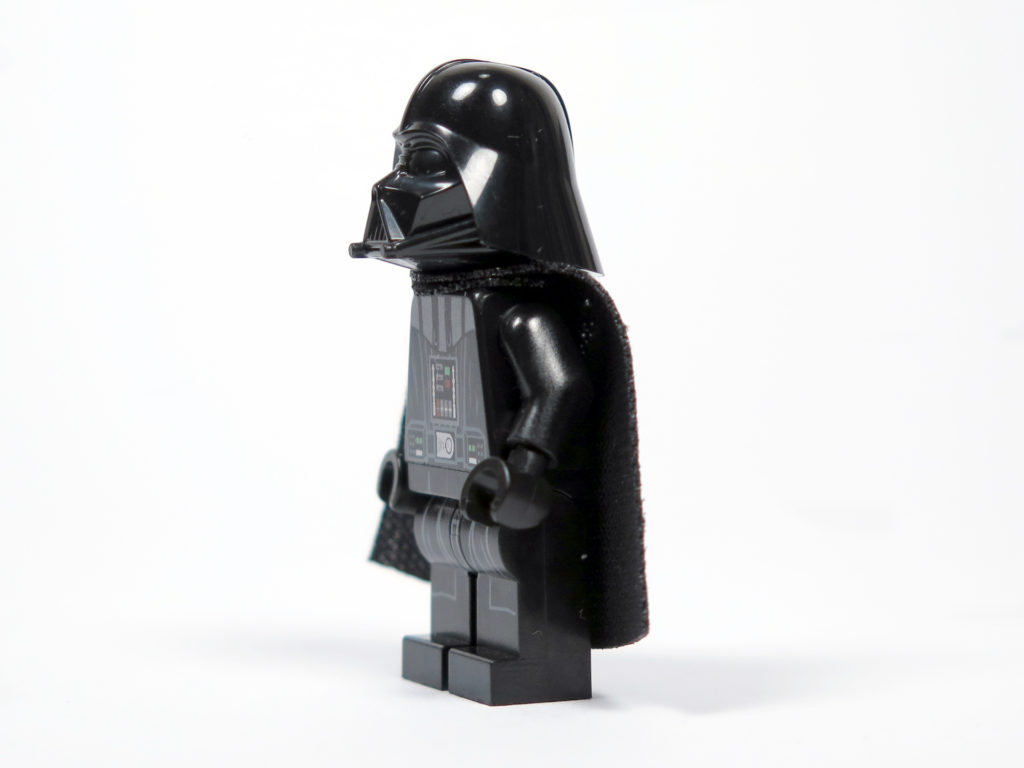 LEGO® Star Wars™ 75183 Darth Vader™ Transformation - Darth Vader linke Seite | ©2018 Brickzeit