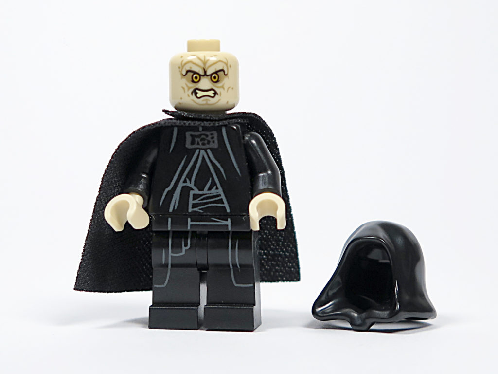 LEGO® Star Wars™ 75183 Darth Vader™ Transformation - Imperator Vorderseite, alternatives Gesicht | ©2018 Brickzeit