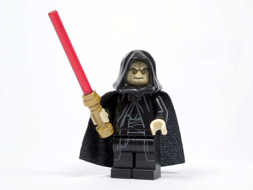 LEGO® Star Wars™ 75183 Darth Vader™ Transformation - Imperator Vorderseite | ©2018 Brickzeit