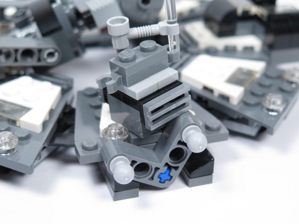 LEGO® Star Wars™ 75183 Darth Vader™ Transformation - Plattform mit Hebel | ©2018 Brickzeit