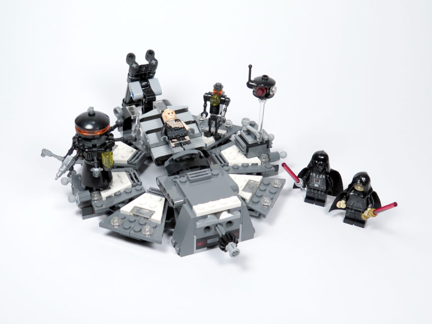 LEGO® Star Wars™ 75183 Darth Vader™ Transformation - Set | ©2018 Brickzeit