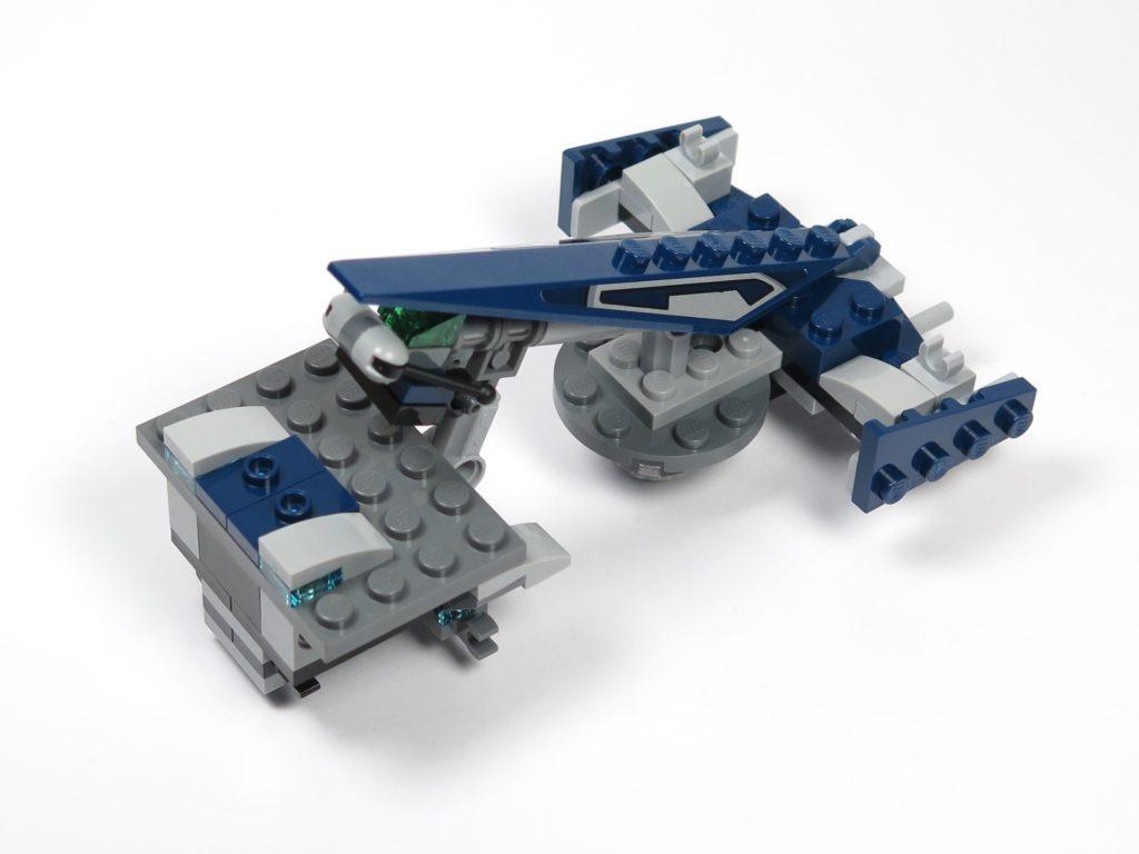 LEGO® Star Wars™ 75199 General Grevious Combat Speeder - Bauabschnitt 1 Rückseite | ©2018 Brickzeit