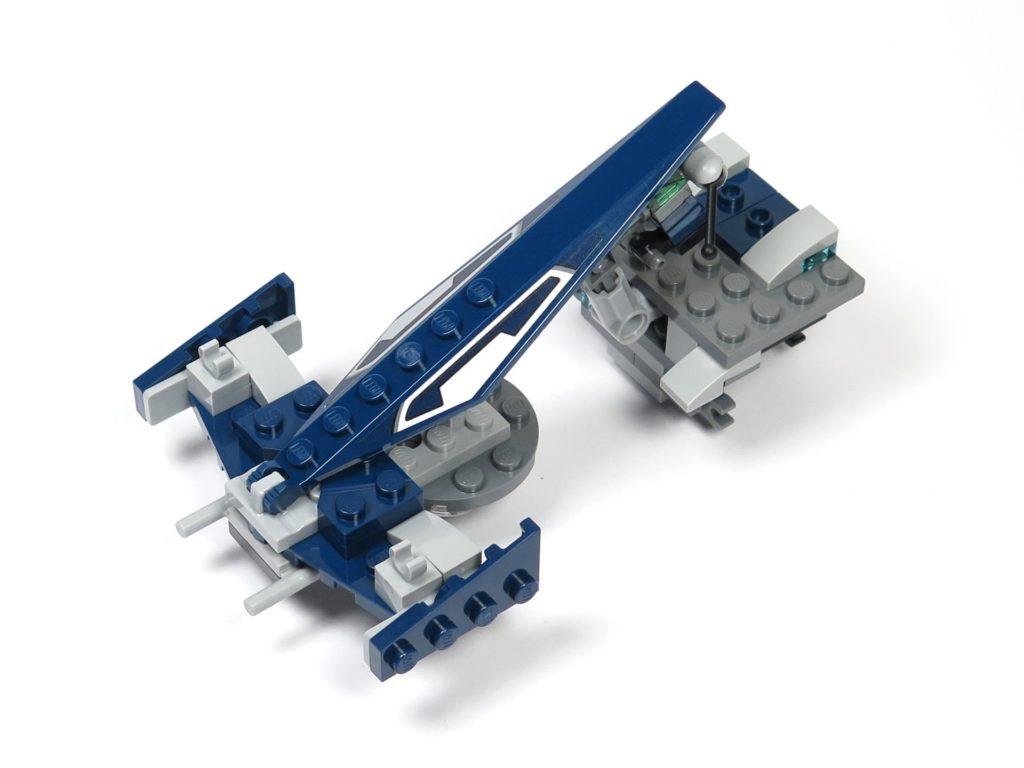 LEGO® Star Wars™ 75199 General Grevious Combat Speeder - Bauabschnitt 1 Vorderseite | ©2018 Brickzeit