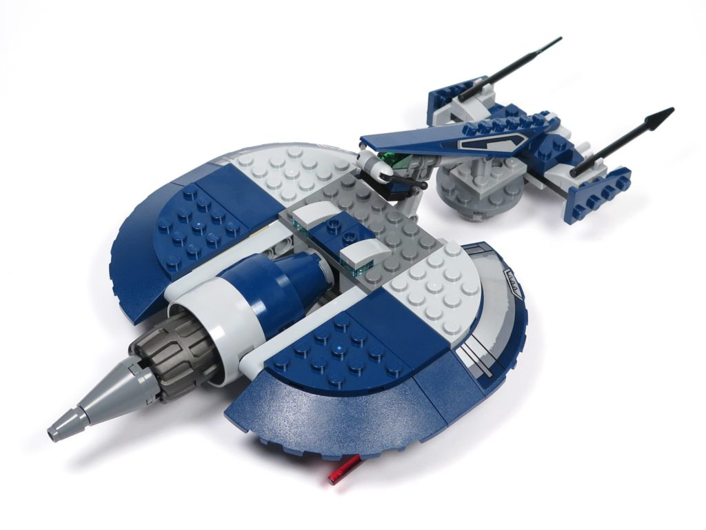 LEGO® Star Wars™ 75199 General Grevious Combat Speeder - Rückseite | ©2018 Brickzeit