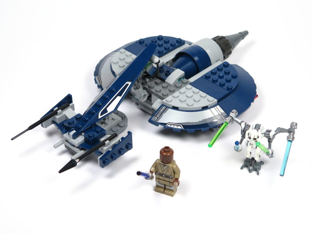 LEGO® Star Wars™ 75199 General Grevious Combat Speeder - Set | ©2018 Brickzeit