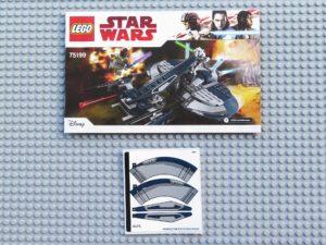 LEGO® Star Wars™ 75199 General Grevious Combat Speeder - Anleitung und Aufkleber | ©2018 Brickzeit