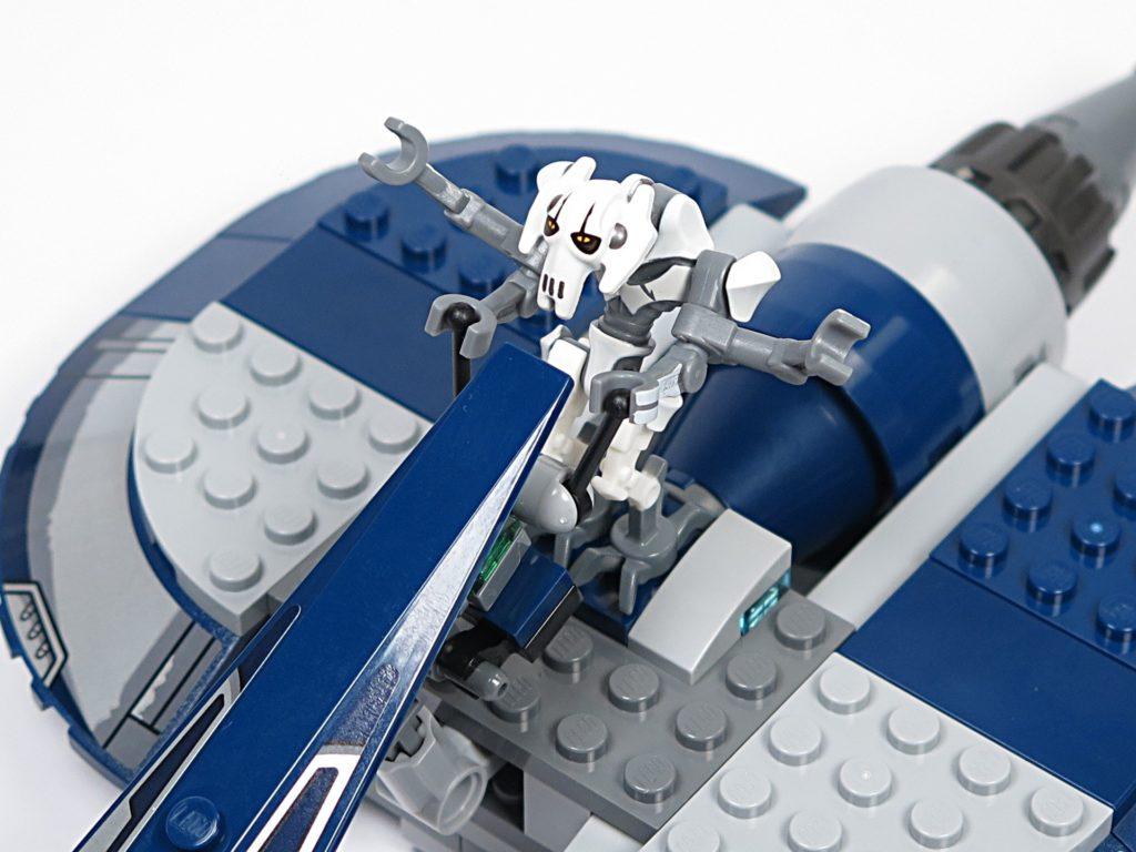 LEGO® Star Wars™ 75199 General Grevious Combat Speeder - Minifigur Grievous auf Combat Speeder | ©2018 Brickzeit