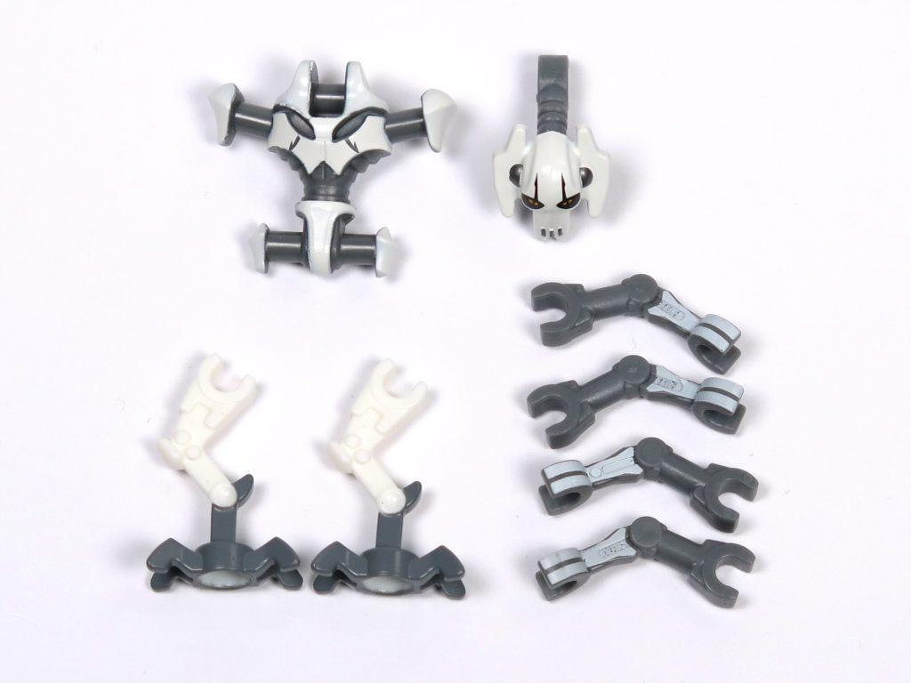 LEGO® Star Wars™ 75199 General Grevious Combat Speeder - Minifigur Grievous Einzelteile | ©2018 Brickzeit