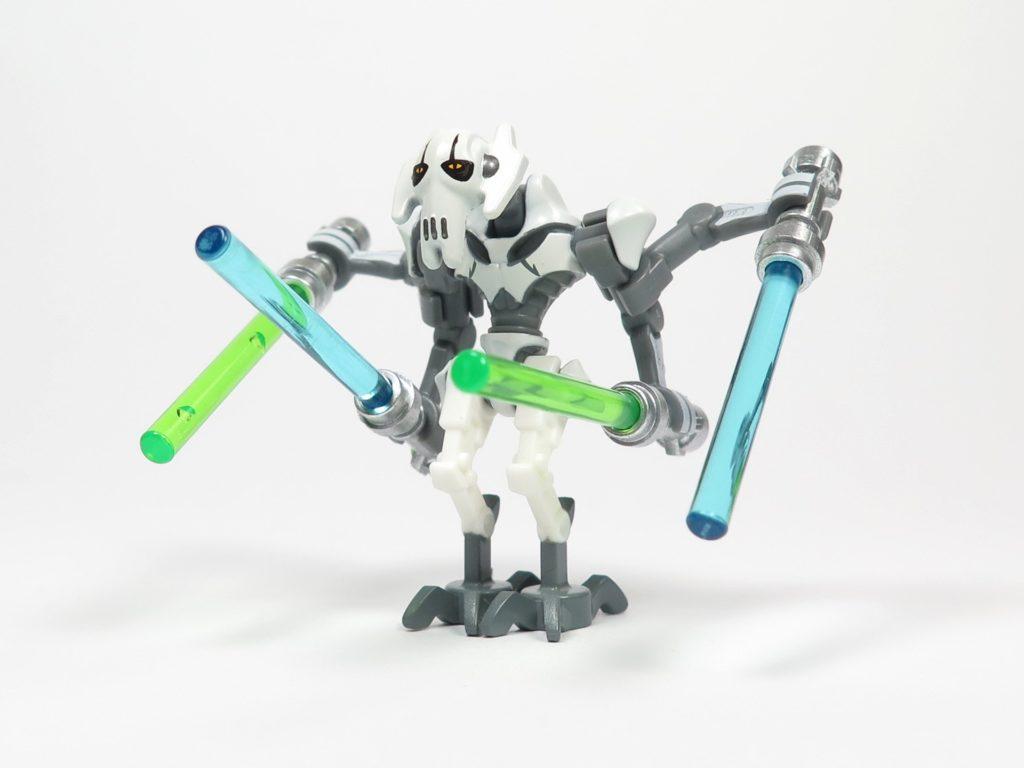 LEGO® Star Wars™ 75199 General Grevious Combat Speeder - Minifigur Grievous Perspektive 2 | ©2018 Brickzeit