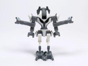 LEGO® Star Wars™ 75199 General Grevious Combat Speeder - Minifigur Grievous Rückseite | ©2018 Brickzeit