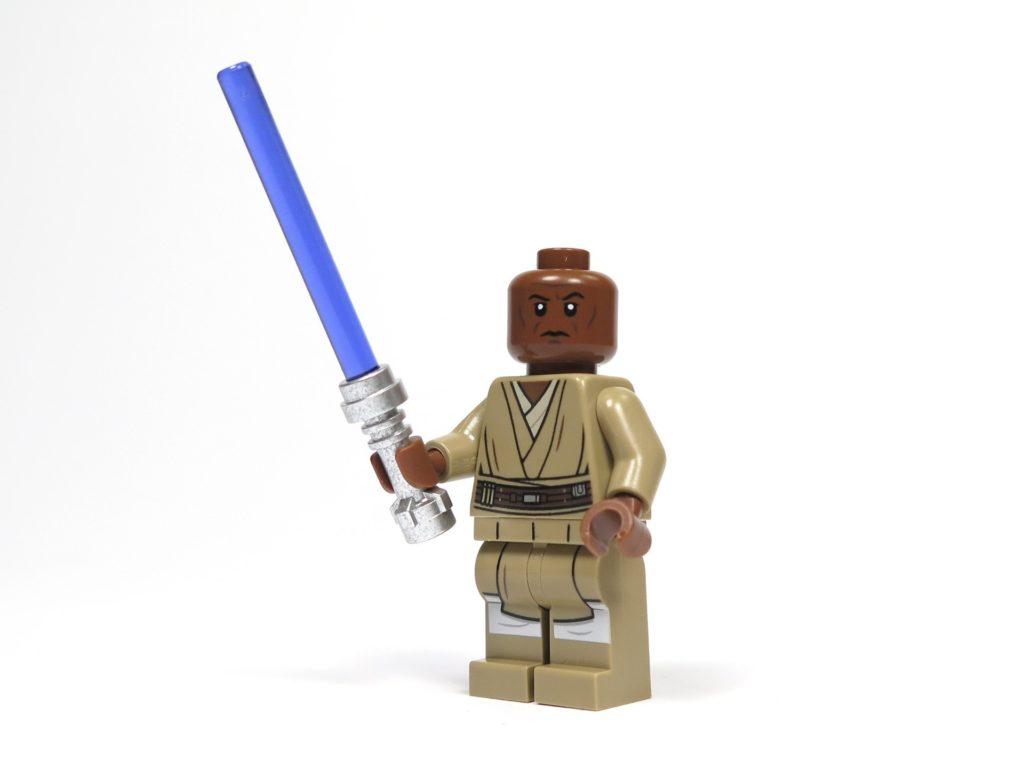 LEGO® Star Wars™ 75199 General Grevious Combat Speeder - Minifigur Mace Windu Vorderseite | ©2018 Brickzeit