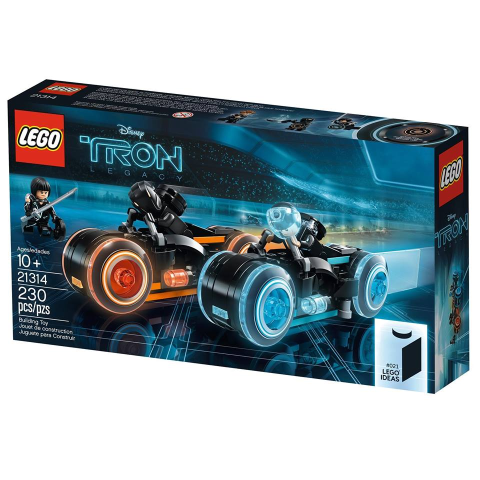LEGO Ideas TRON: Legacy 21314 - Packung Vorderseite | ©LEGO Gruppe