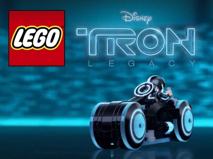 LEGO Tron Legacy Teaser Screenshot | ©LEGO Gruppe