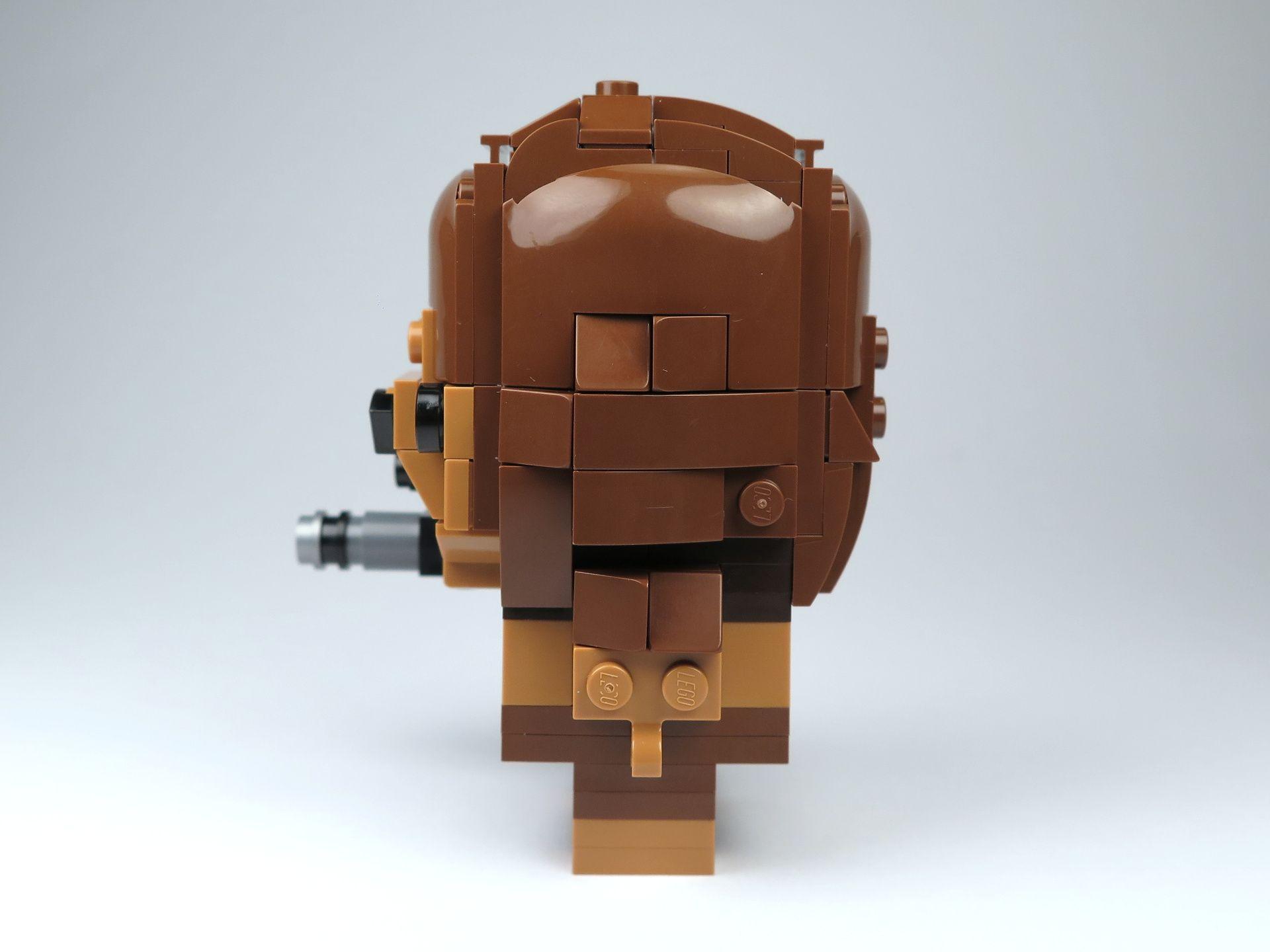 LEGO® Brickheadz™ Chewbacca™ (41609) - linke Seite | ©2018 Brickzeit