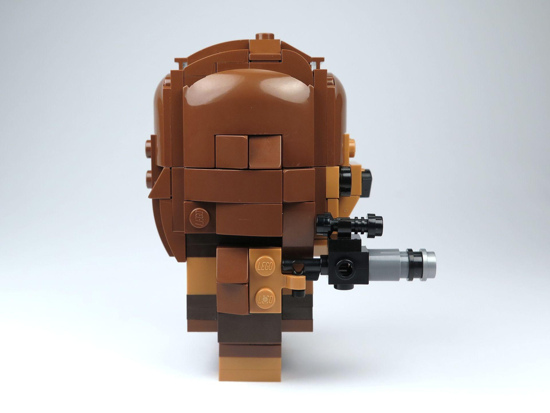 LEGO® Brickheadz™ Chewbacca™ (41609) - Rechte Seite | ©2018 Brickzeit
