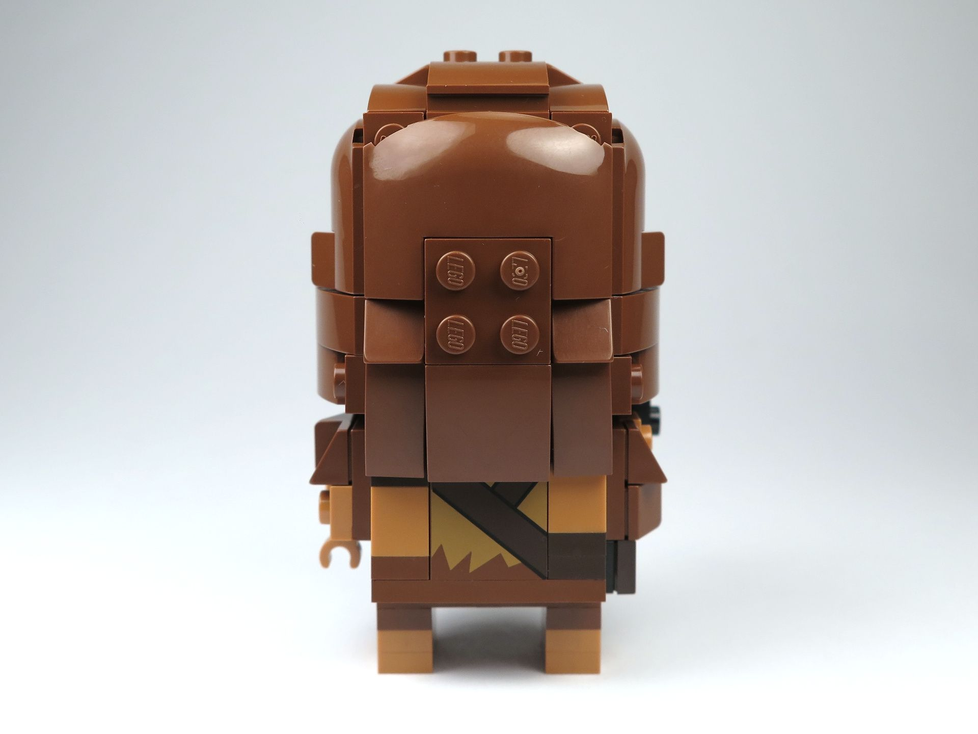 LEGO® Brickheadz™ Chewbacca™ (41609) - Rückseite | ©2018 Brickzeit