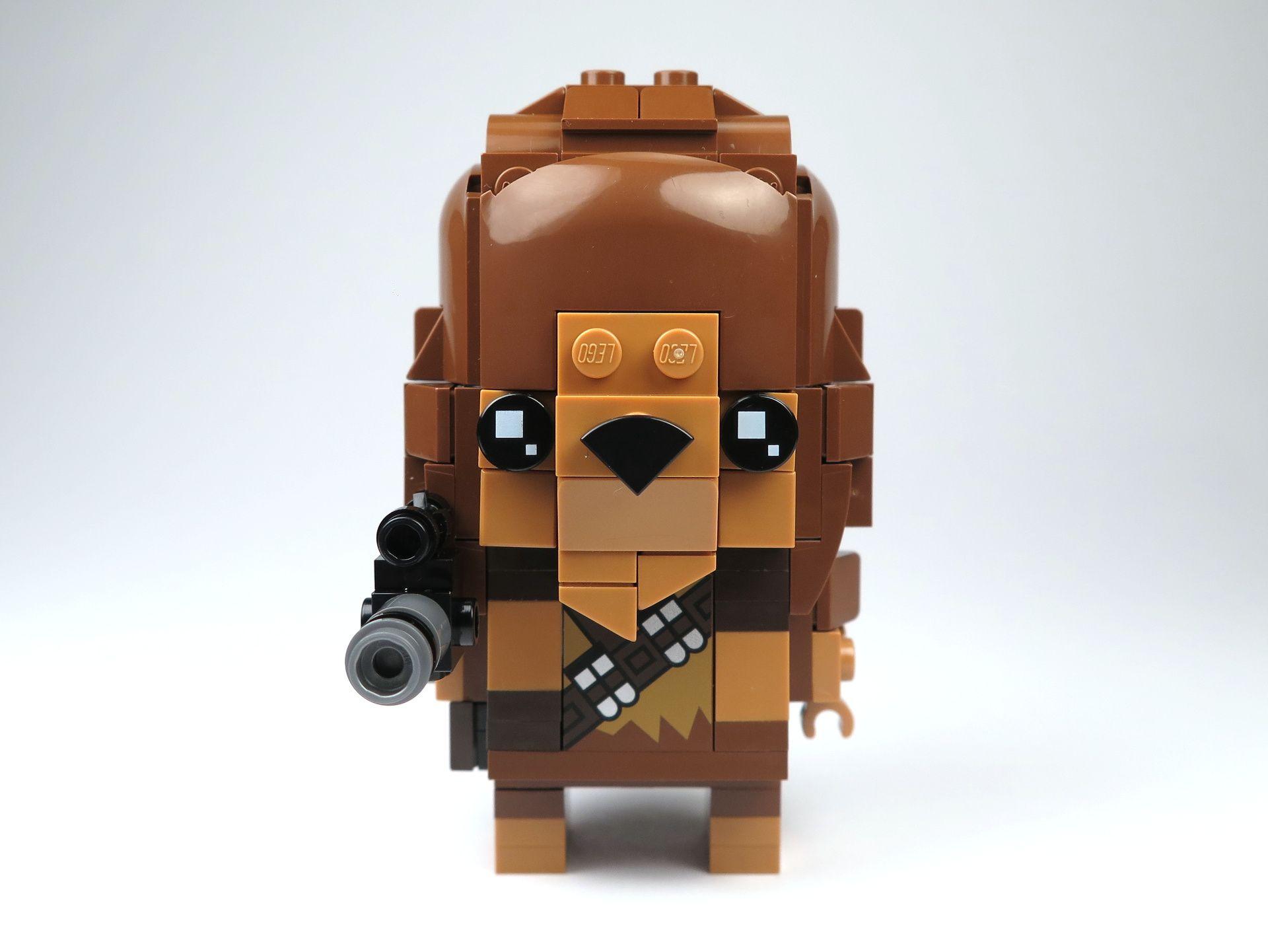 LEGO® Brickheadz™ Chewbacca™ (41609) - Vorderseite | ©2018 Brickzeit