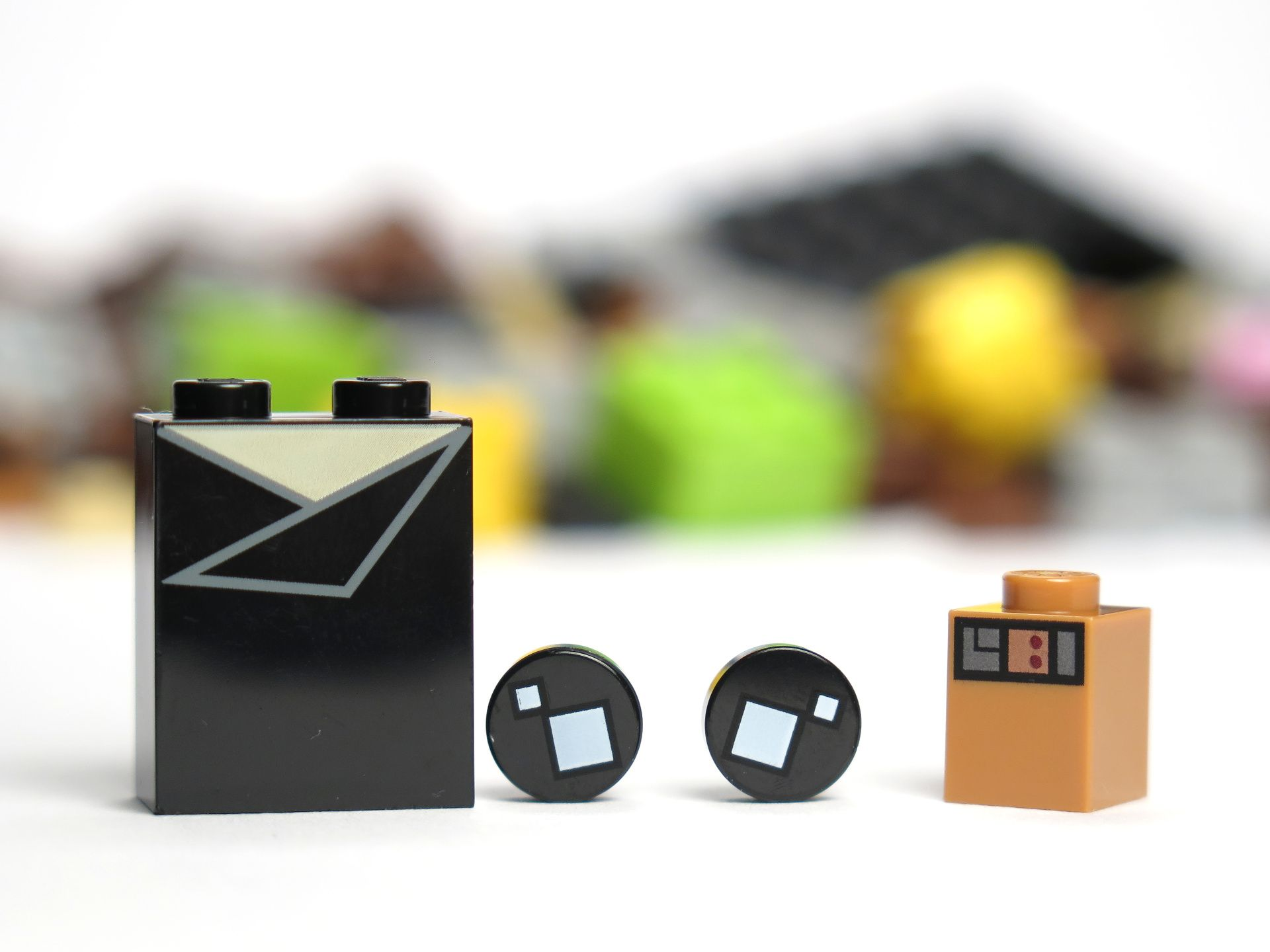 LEGO® Brickheadz™ Han Solo™ (41608) - bedruckte Bauteile | ©2018 Brickzeit