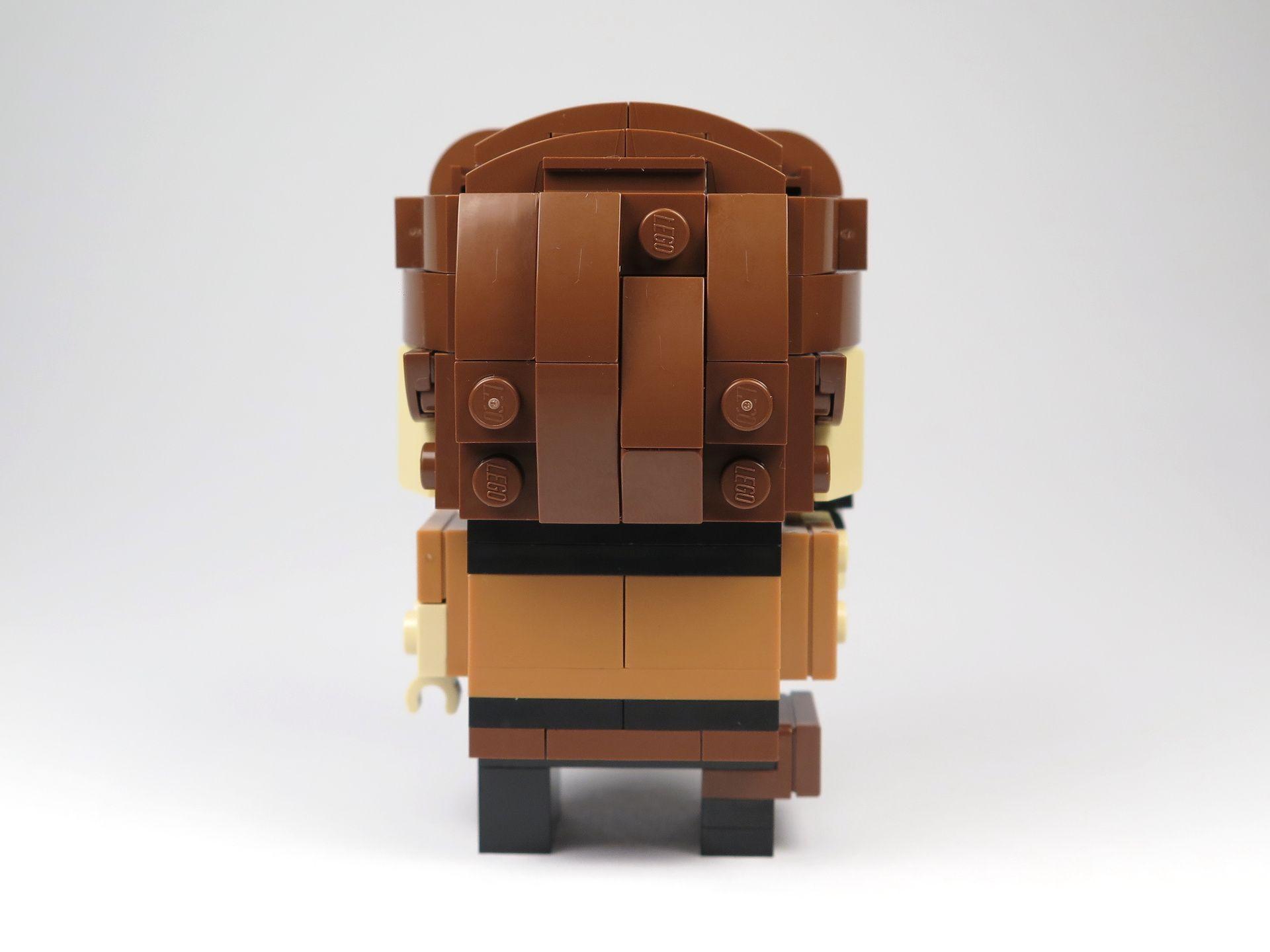 LEGO® Brickheadz™ Han Solo™ (41608) - Rückseite | ©2018 Brickzeit