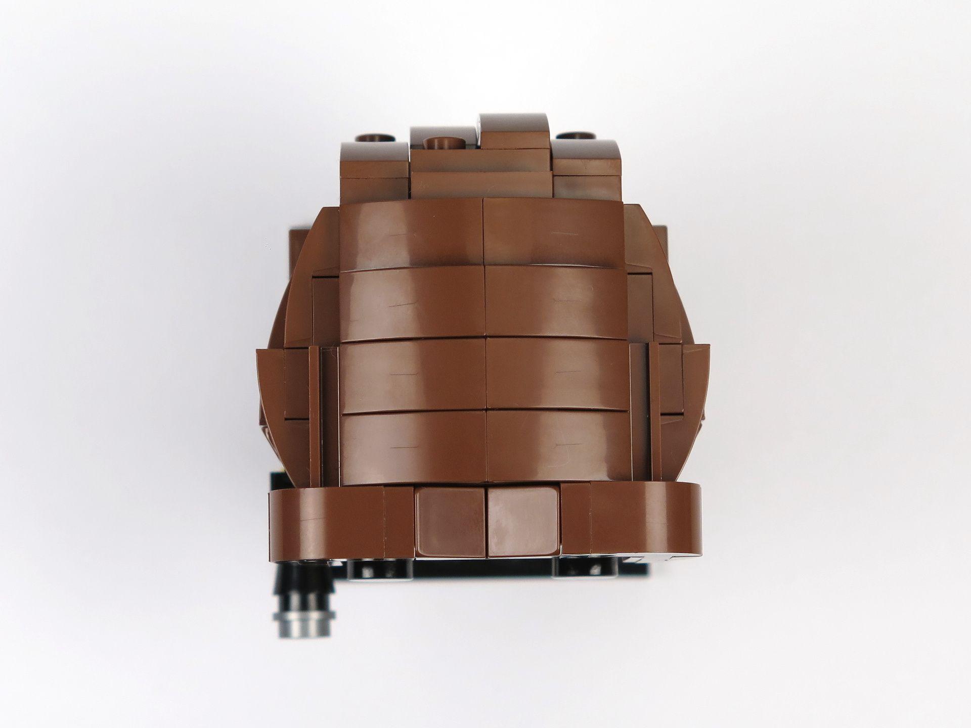LEGO® Brickheadz™ Han Solo™ (41608) - Oberseite | ©2018 Brickzeit