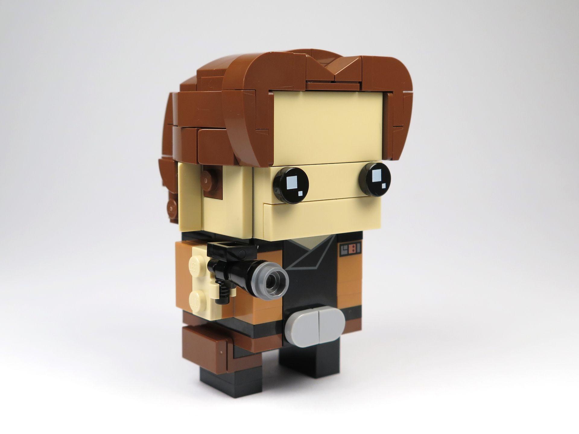 LEGO® Brickheadz™ Han Solo™ (41608) - Perspektive rechts | ©2018 Brickzeit