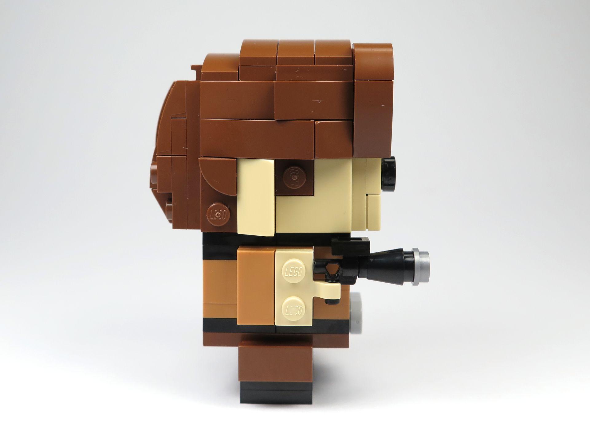 LEGO® Brickheadz™ Han Solo™ (41608) - rechte Seite | ©2018 Brickzeit
