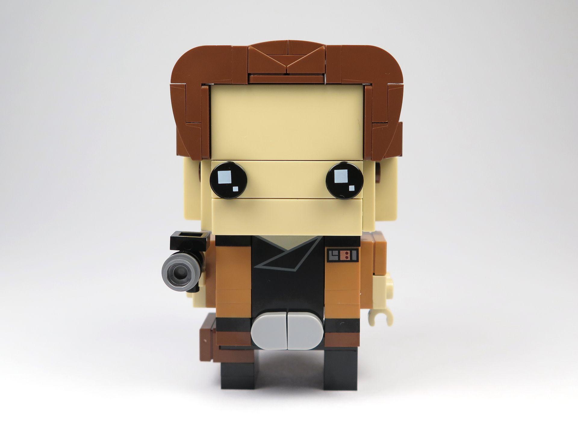 LEGO® Brickheadz™ Han Solo™ (41608) - Vorderseite | ©2018 Brickzeit