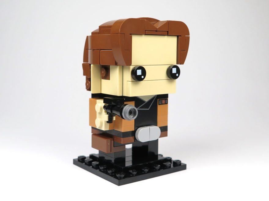 LEGO® Brickheadz™ Han Solo™ (41608) - Titelbild | ©2018 Brickzeit