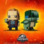 LEGO® Brickheadz™ Jurassic World Owen & Blue (41614) | ©2018 LEGO Group