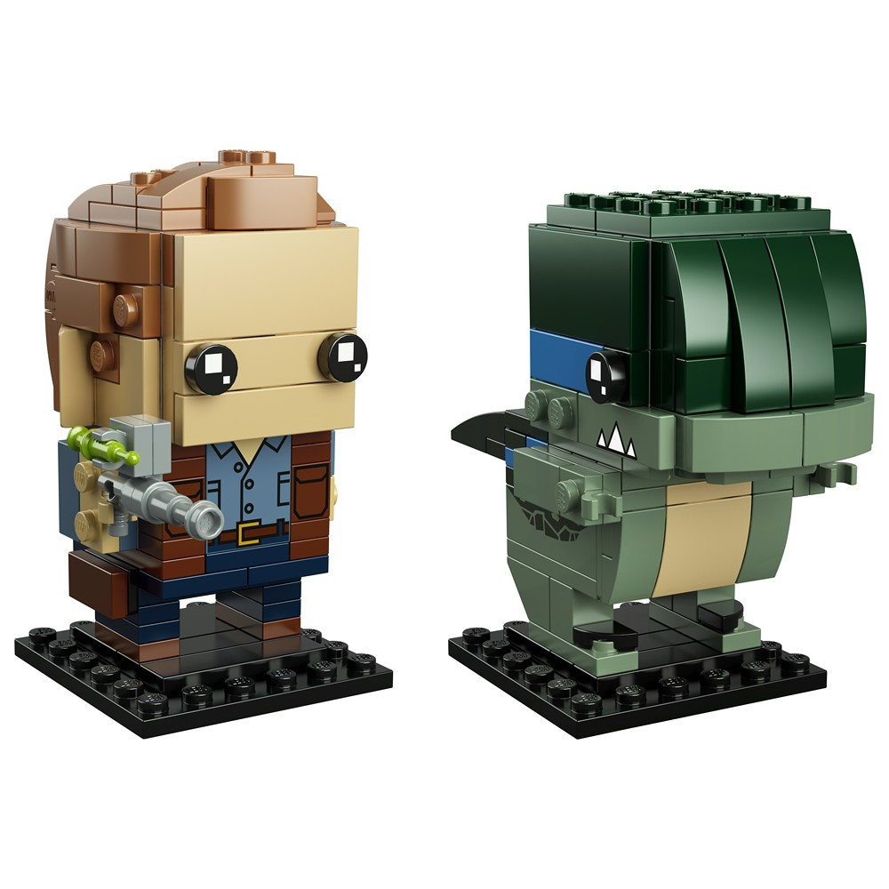 LEGO® Brickheadz™ Jurassic World Owen & Blue (41614) - Set | ©2018 LEGO Group