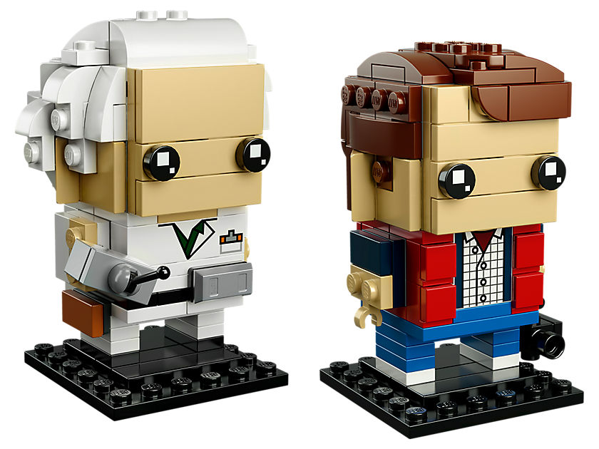LEGO® Brickheadz Marty Mcfly und Doc Brown (41611) - Set | ©LEGO Gruppe