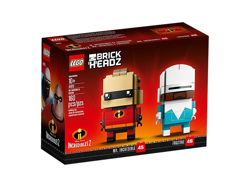LEGO® Brickheadz™ Mr. Incredible und Frozone (41613) - Packung Vorderseite | ©LEGO Gruppe