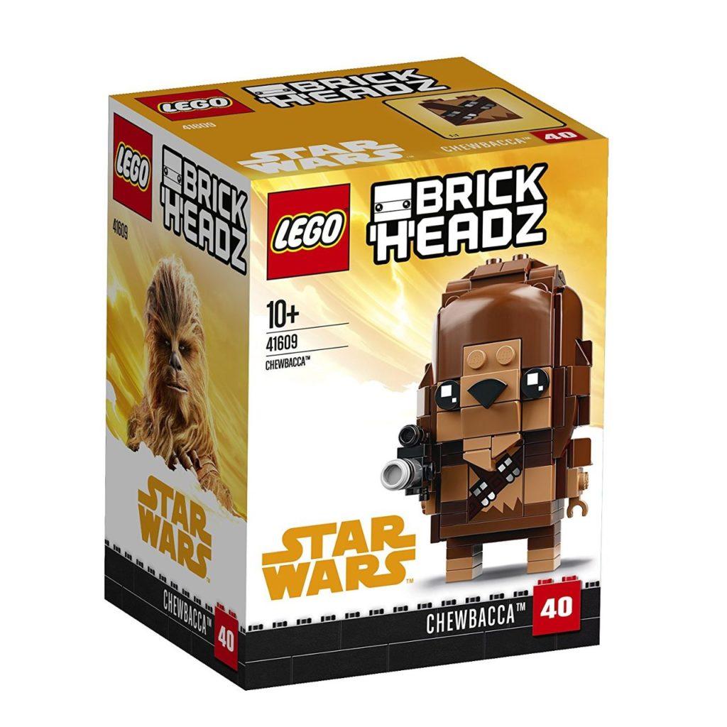 LEGO® Brickheadz Star Wars Chewbacca (41609) - Packung | ©2018 Brickzeit