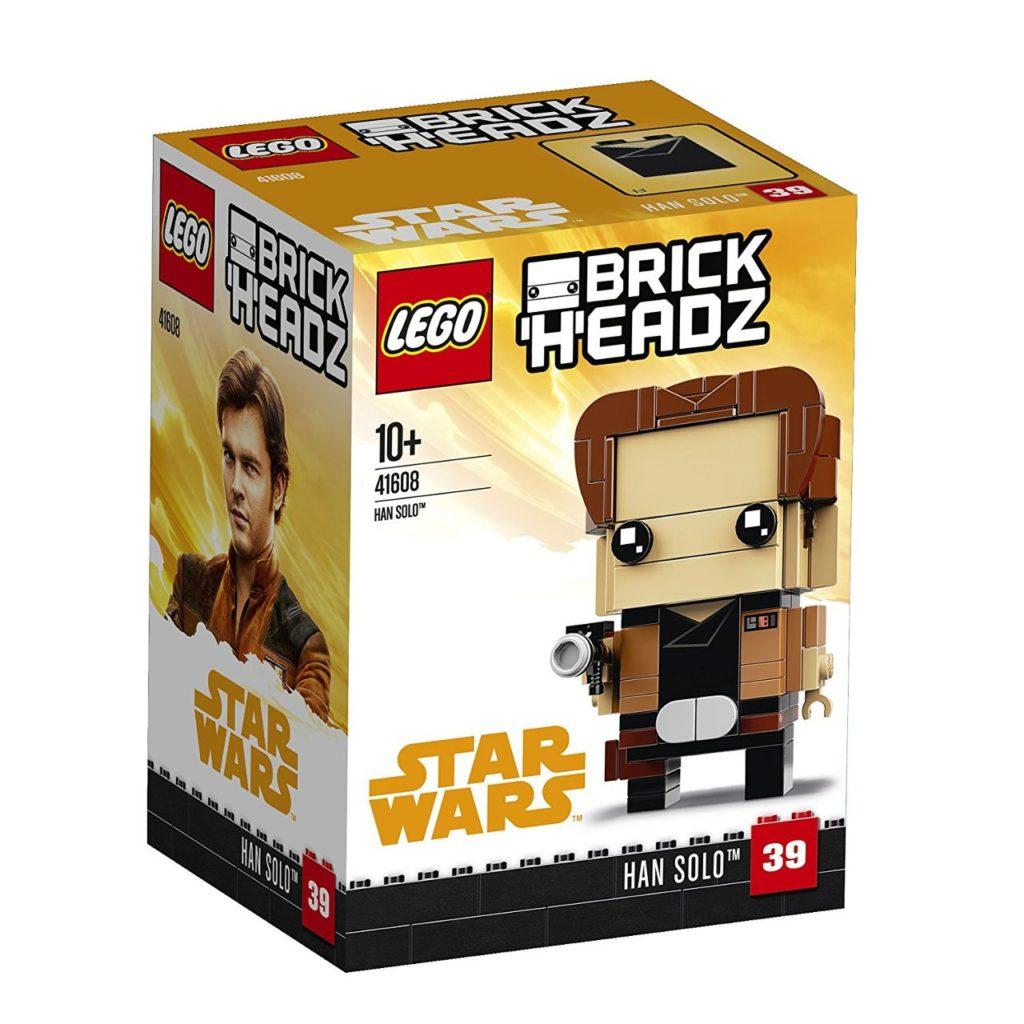 LEGO® Brickheadz Star Wars Han Solo (41608) - Packung | ©2018 Brickzeit