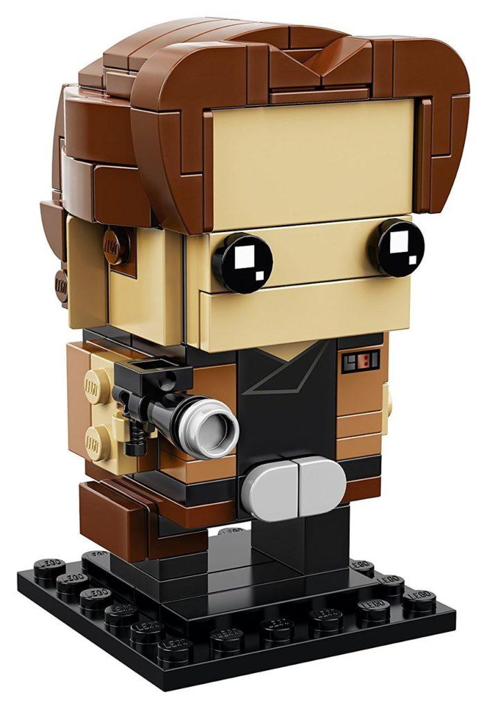 LEGO® Brickheadz Star Wars Han Solo (41608) - Figur | ©2018 Brickzeit