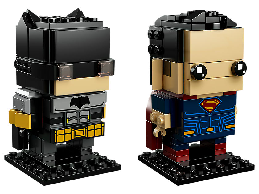 LEGO® Brickheadz™ Tactical Batman™ & Superman™ (41610) - Set | ©LEGO Gruppe