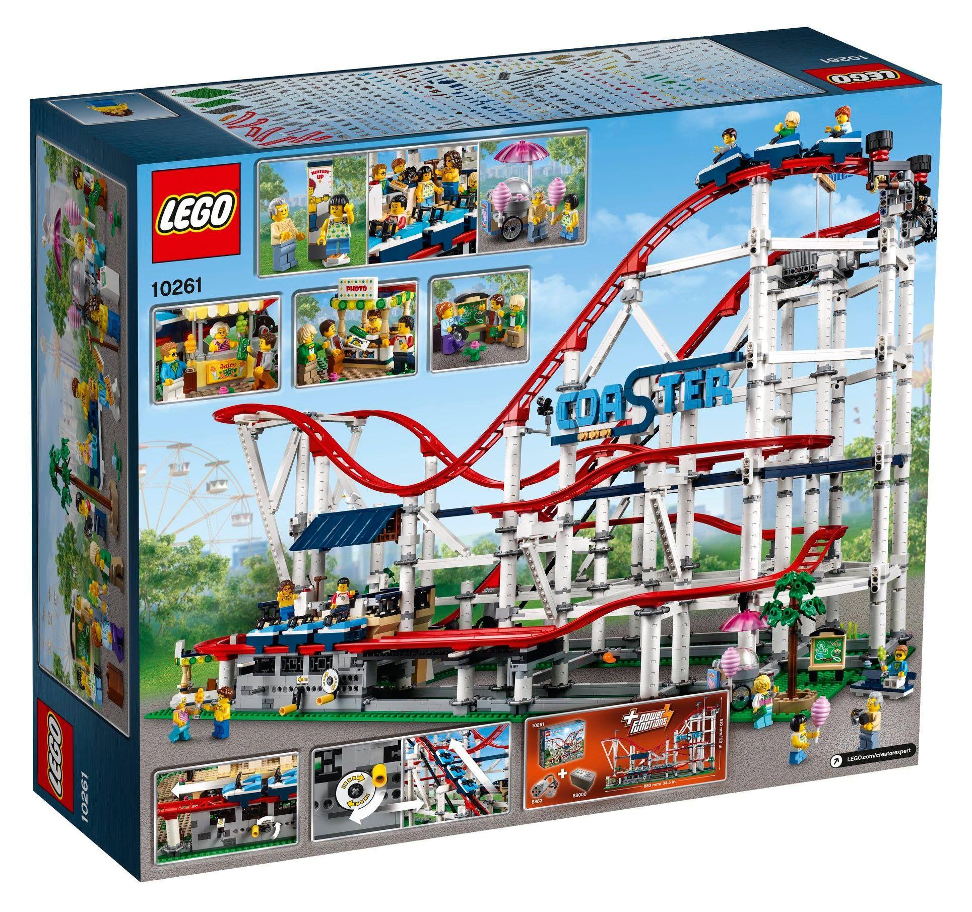 LEGO® Creator Expert Achterbahn (10261) - Bild 03 | ©LEGO Gruppe